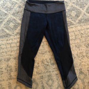 Navy blue lululemon leggings